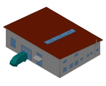 Neubau der Produktionshalle der Bihler Fertigung GmbH